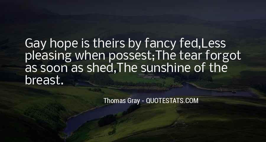 Thomas Gray Quotes #24346