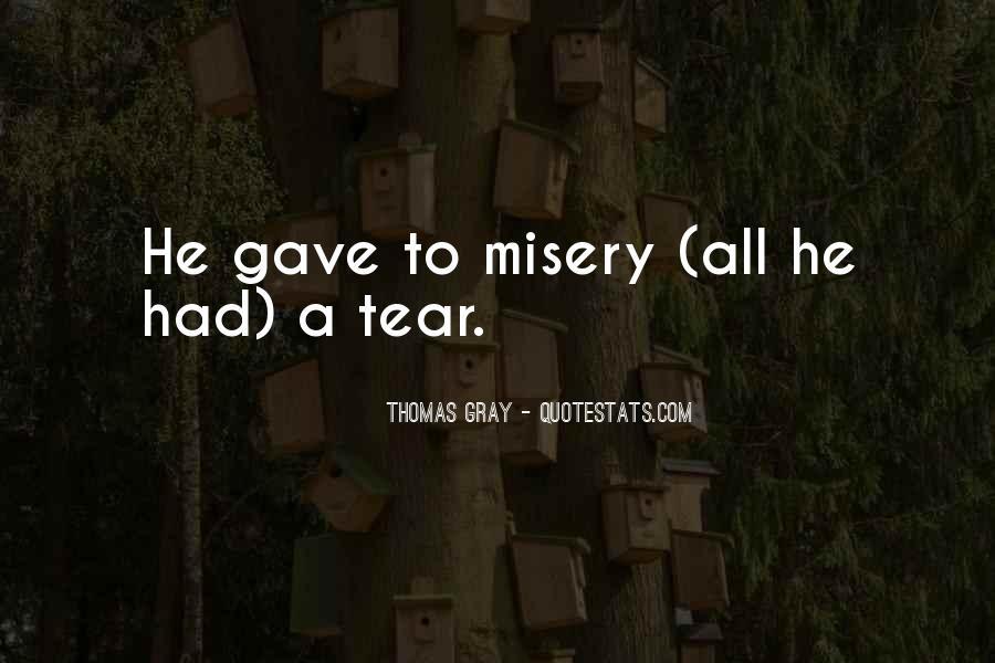 Thomas Gray Quotes #277024