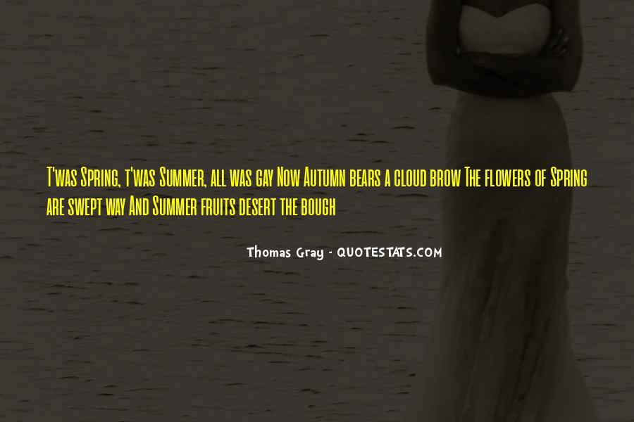 Thomas Gray Quotes #322089