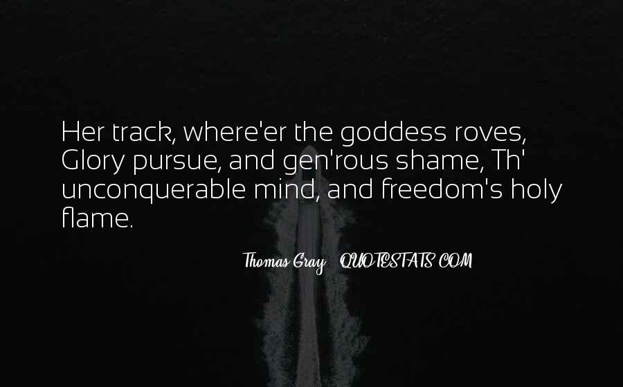 Thomas Gray Quotes #410918