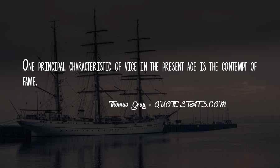 Thomas Gray Quotes #434728