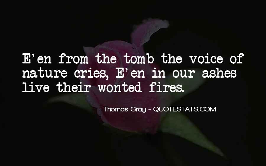 Thomas Gray Quotes #495554