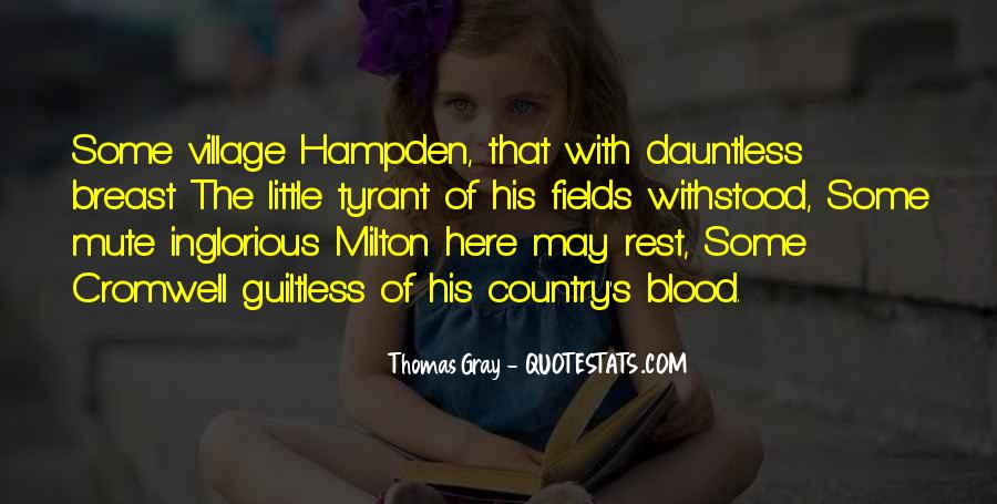 Thomas Gray Quotes #536801