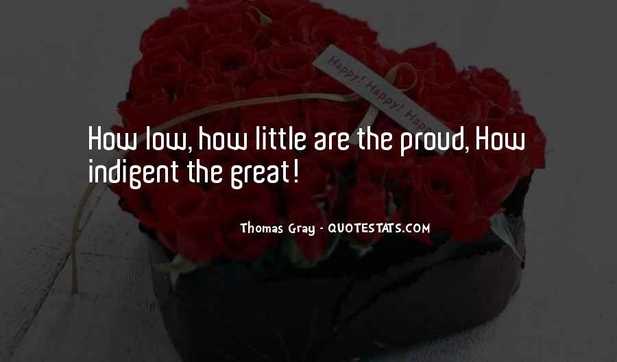Thomas Gray Quotes #593458