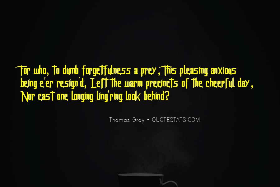 Thomas Gray Quotes #63429