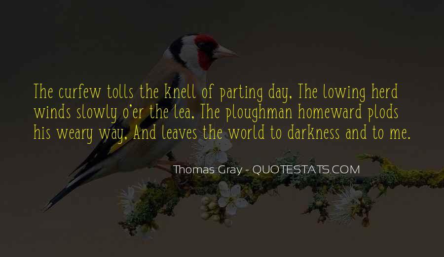 Thomas Gray Quotes #65801