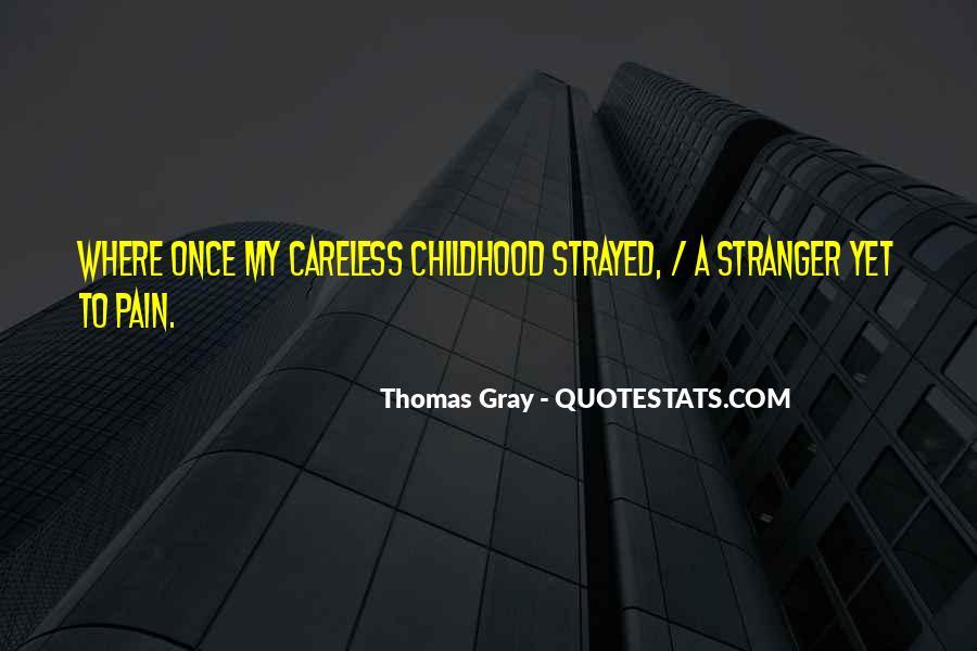 Thomas Gray Quotes #71313
