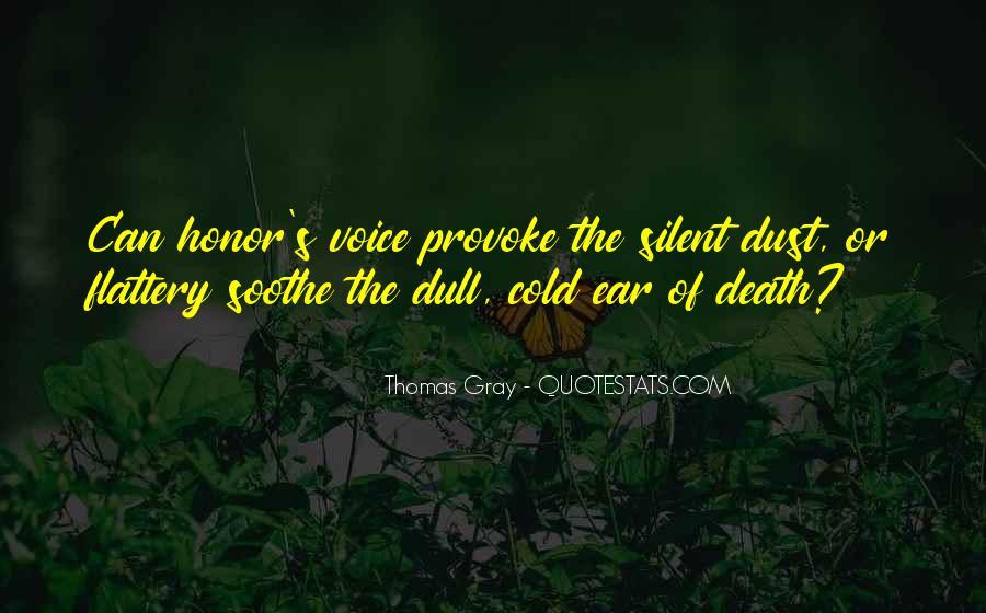 Thomas Gray Quotes #751561
