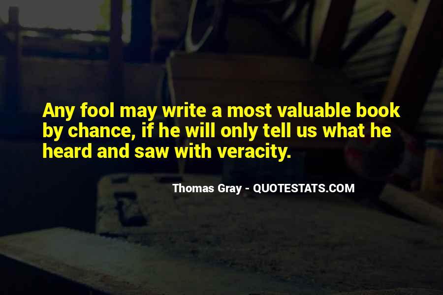 Thomas Gray Quotes #806895