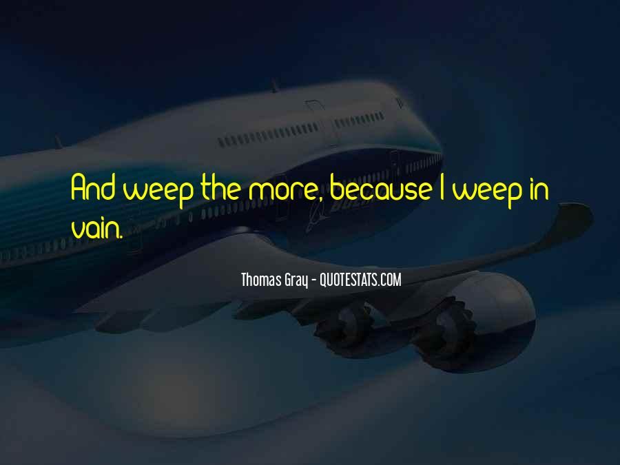 Thomas Gray Quotes #988351