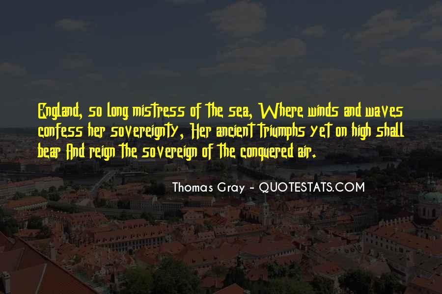 Thomas Gray Quotes #998167