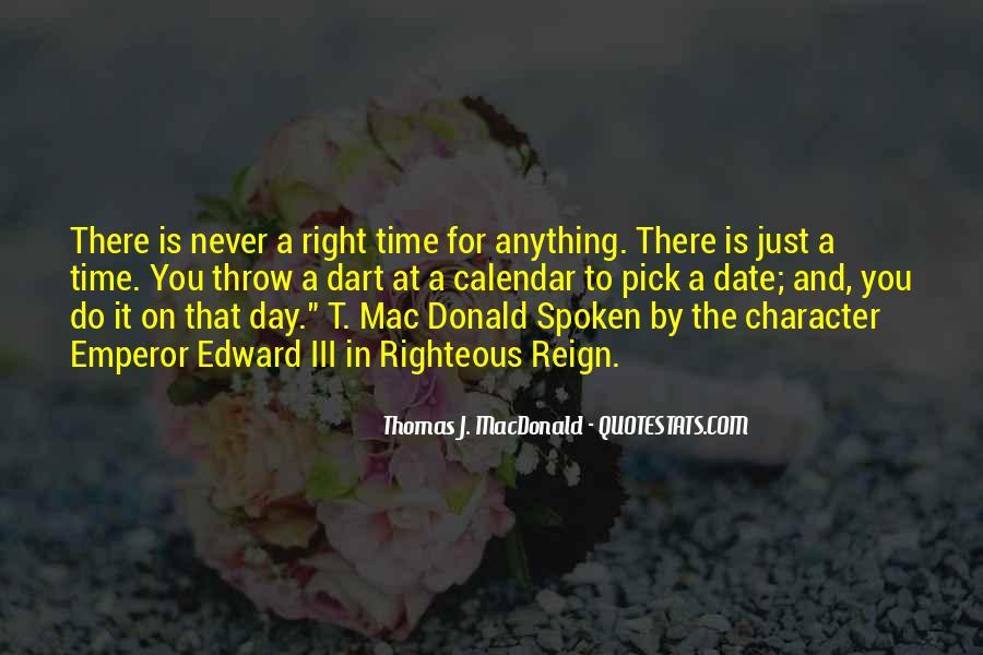 Thomas J. MacDonald Quotes #760665