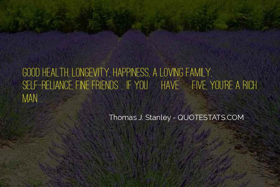 Thomas J. Stanley Quotes #1263360