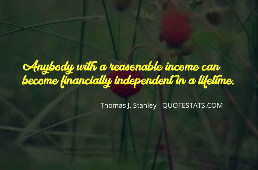 Thomas J. Stanley Quotes #1335364