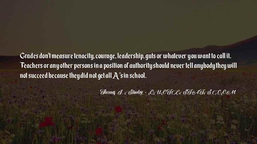 Thomas J. Stanley Quotes #1616471