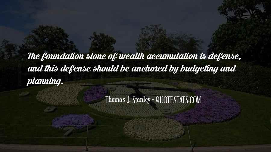 Thomas J. Stanley Quotes #1658281