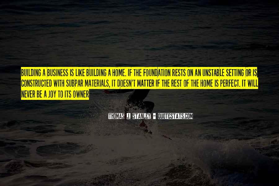 Thomas J. Stanley Quotes #1842638