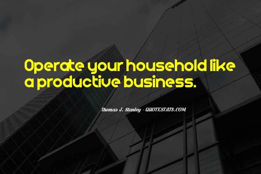 Thomas J. Stanley Quotes #475154