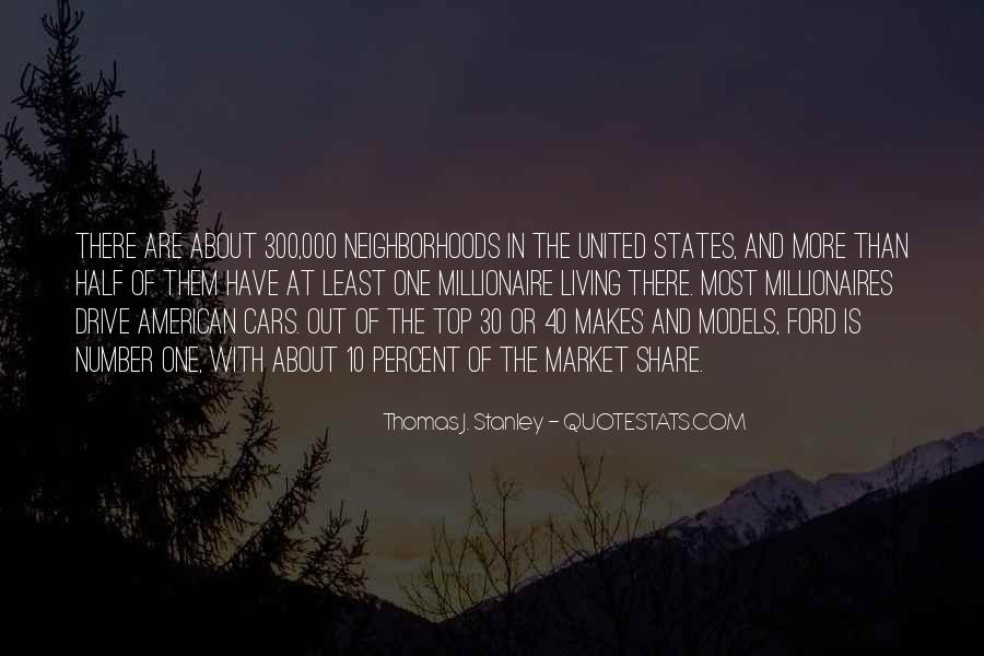 Thomas J. Stanley Quotes #489833