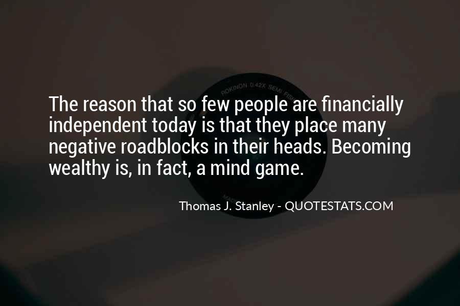 Thomas J. Stanley Quotes #512491