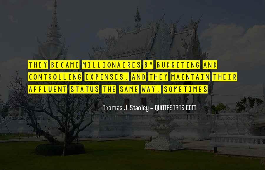 Thomas J. Stanley Quotes #878732