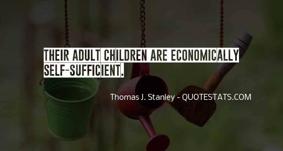 Thomas J. Stanley Quotes #890685