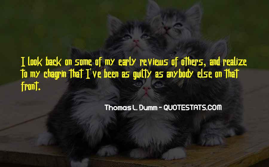 Thomas L. Dumm Quotes #125496