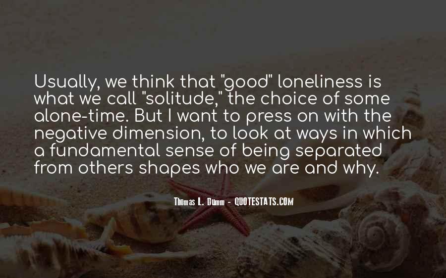 Thomas L. Dumm Quotes #193945