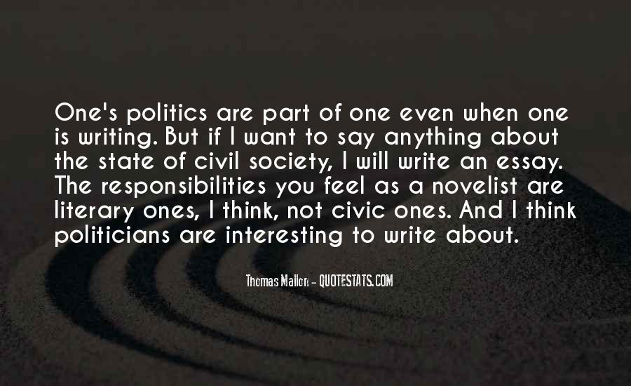 Thomas Mallon Quotes #1643155