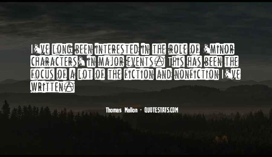 Thomas Mallon Quotes #1717703