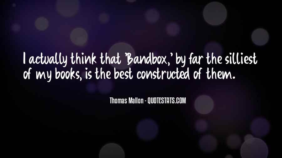 Thomas Mallon Quotes #755101