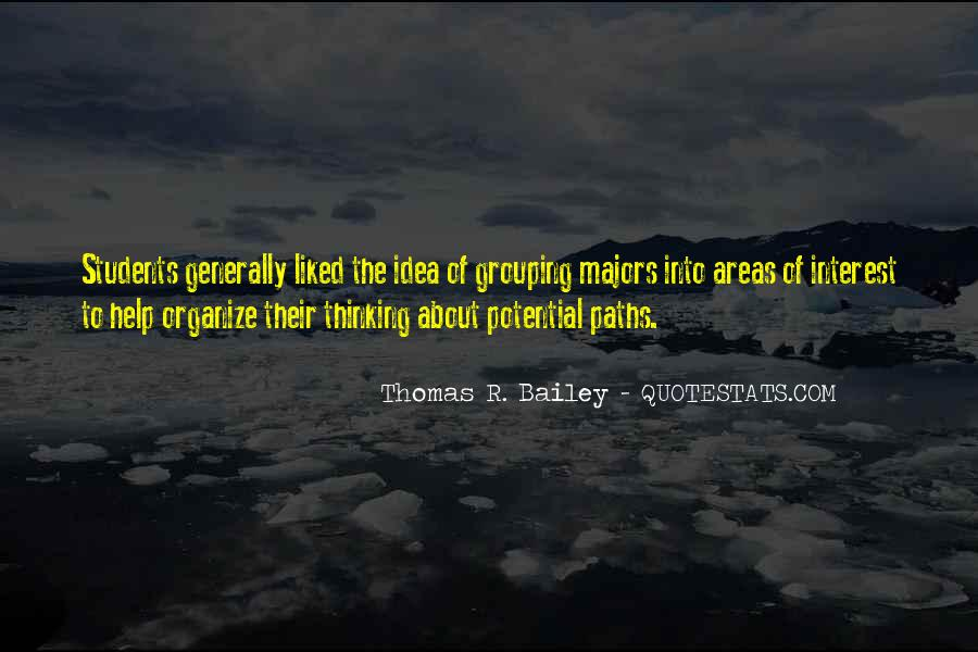 Thomas R. Bailey Quotes #1498503