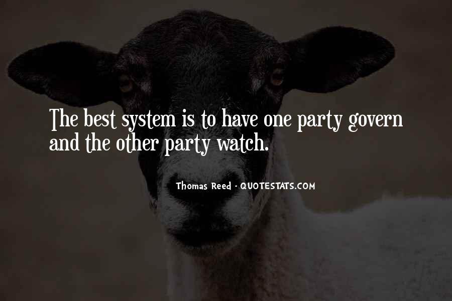 Thomas Reed Quotes #1008676