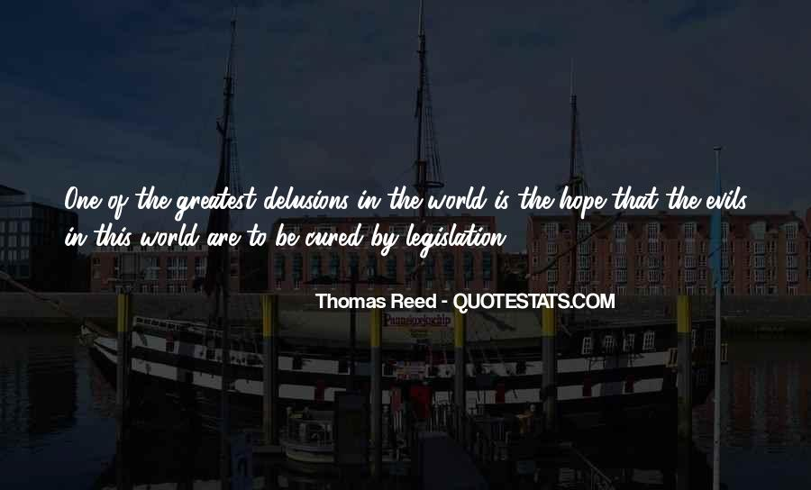 Thomas Reed Quotes #212368