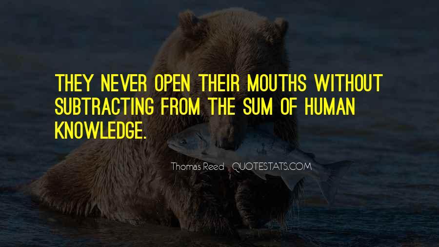 Thomas Reed Quotes #483213