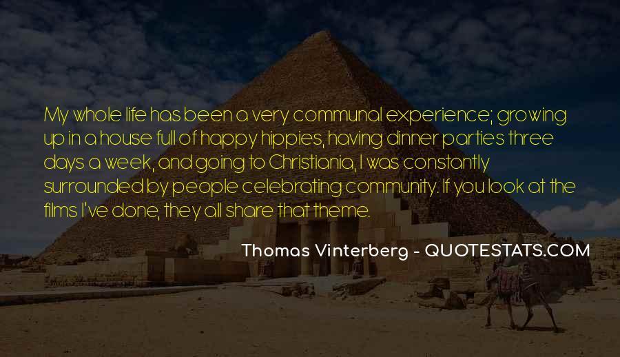 Thomas Vinterberg Quotes #1162607