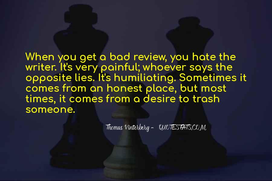 Thomas Vinterberg Quotes #1698505