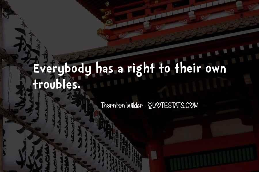 Thornton Wilder Quotes #1019305
