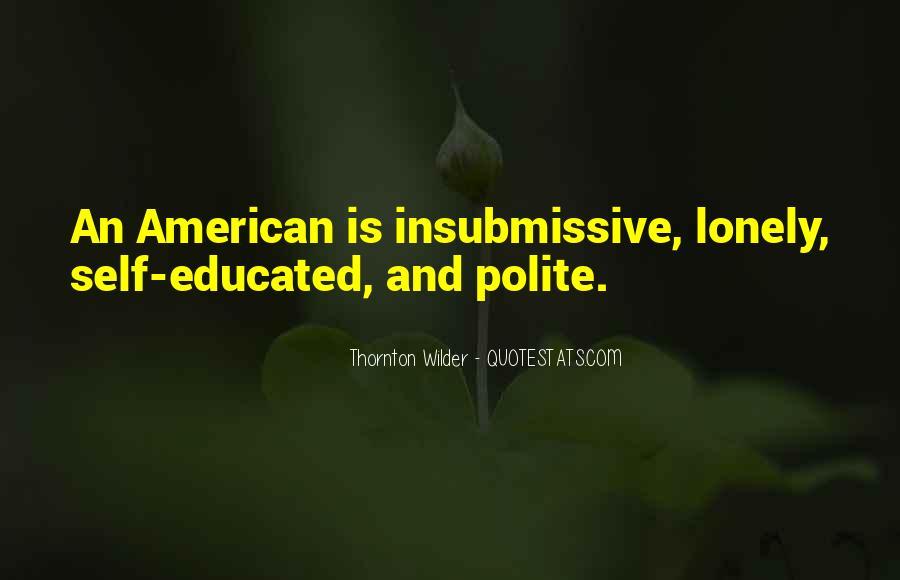 Thornton Wilder Quotes #111752