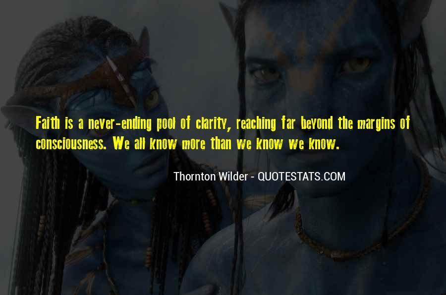 Thornton Wilder Quotes #1160540