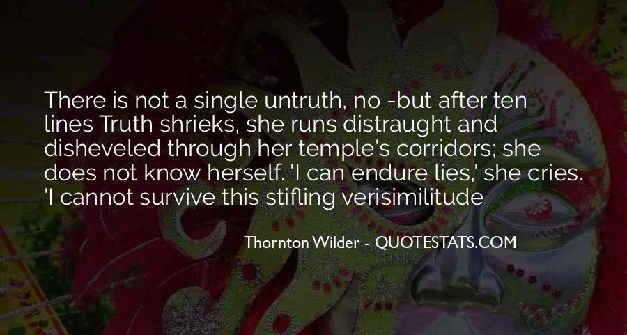 Thornton Wilder Quotes #1170849