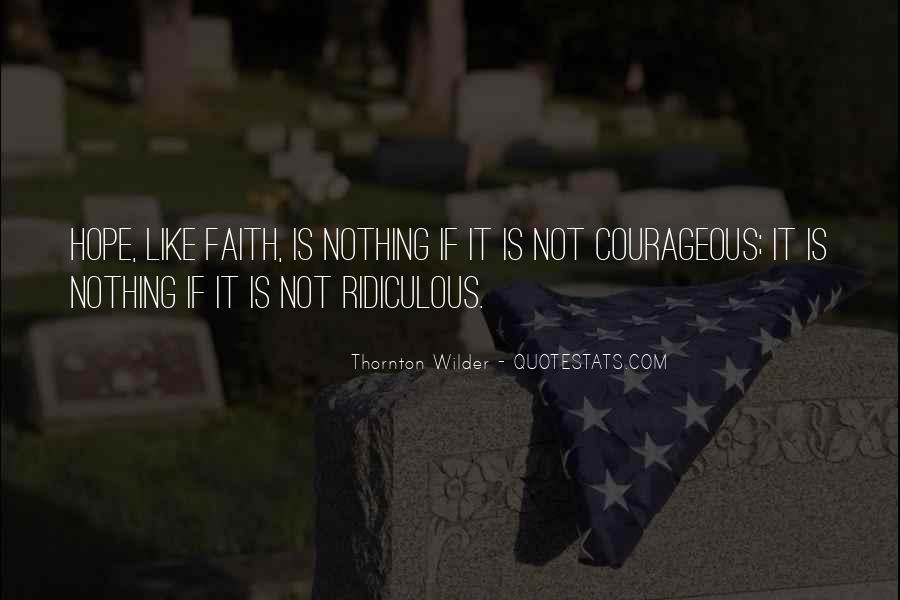 Thornton Wilder Quotes #1214055