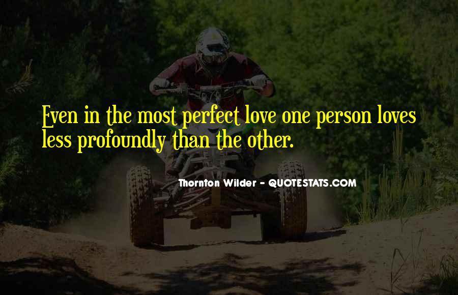 Thornton Wilder Quotes #1228416
