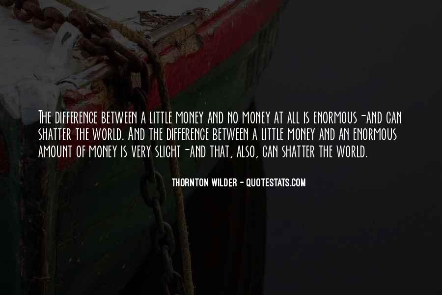 Thornton Wilder Quotes #125359