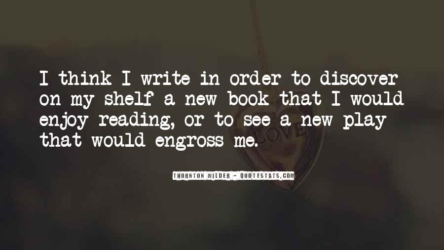 Thornton Wilder Quotes #1423911