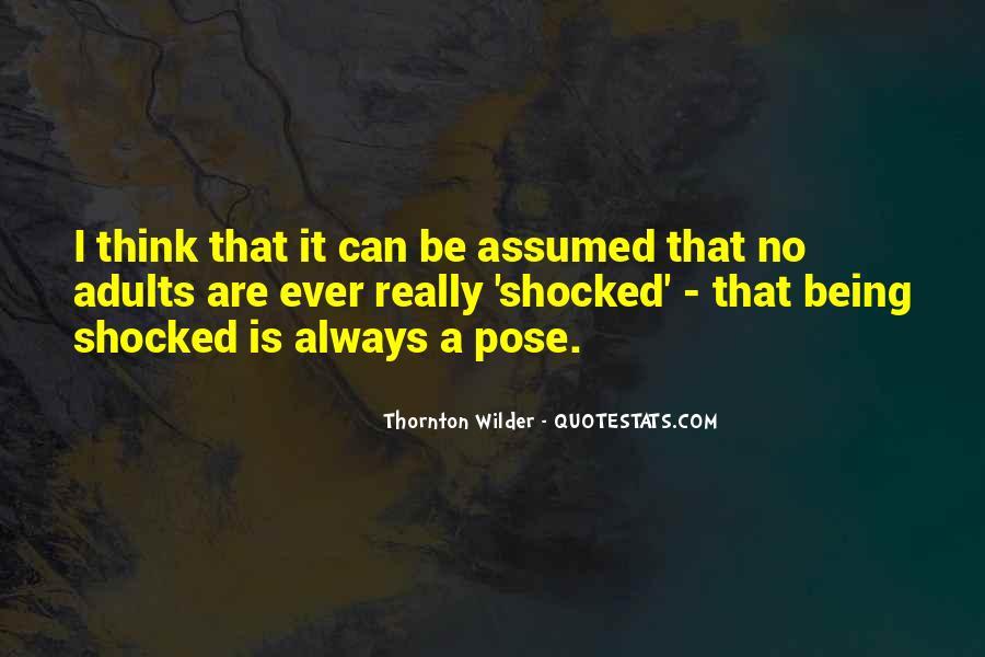 Thornton Wilder Quotes #1455916