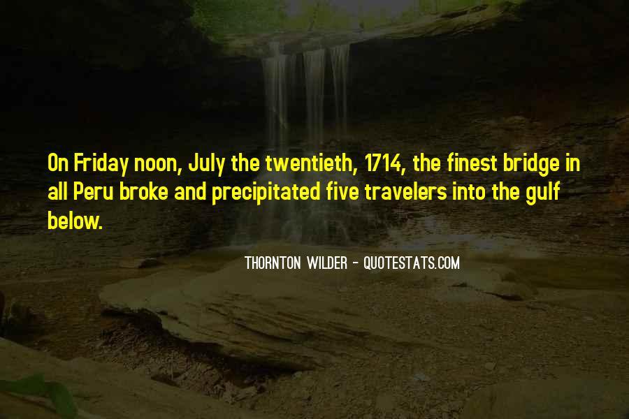 Thornton Wilder Quotes #1470990