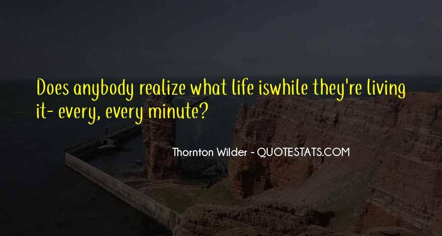 Thornton Wilder Quotes #1474234