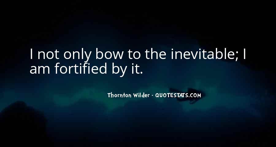 Thornton Wilder Quotes #1476763