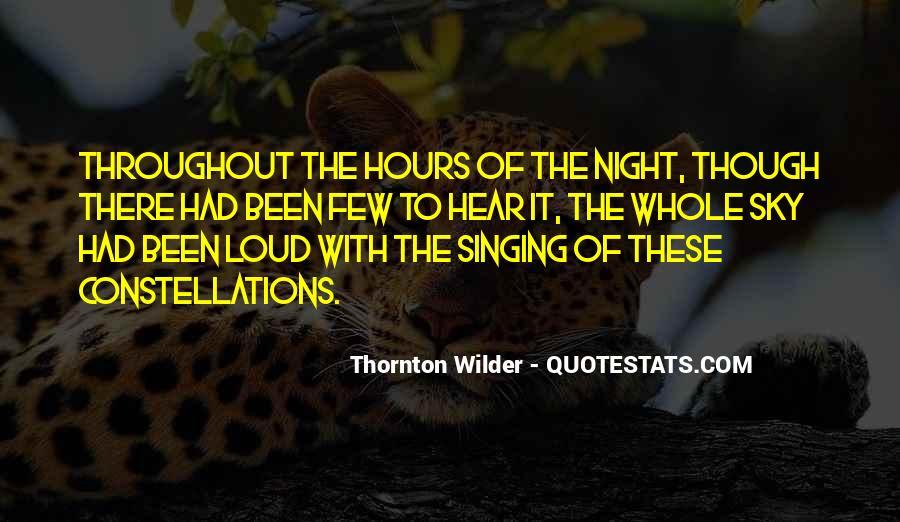 Thornton Wilder Quotes #1518272